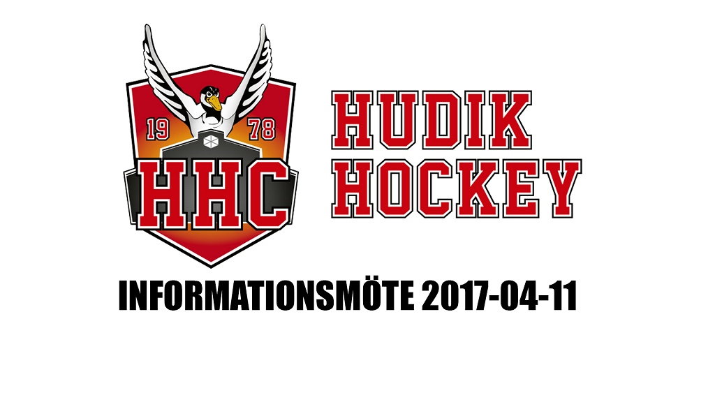 Hudik Hockey informationsmöte - 11 Apr 19:00 - 20:35