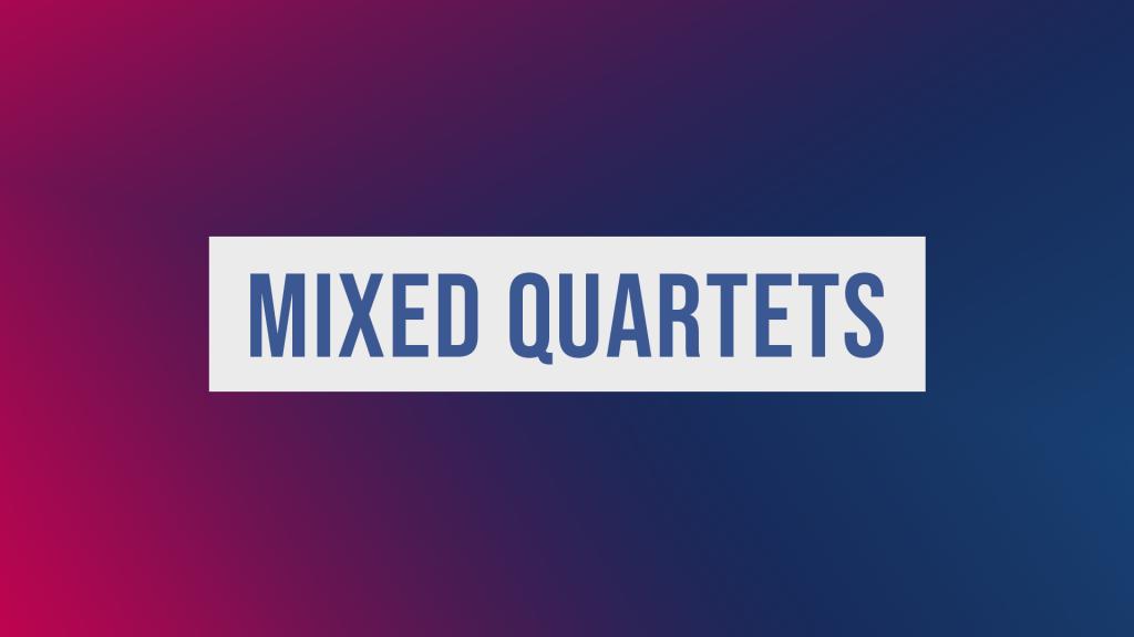 Mixed Quartet Finals 2019
