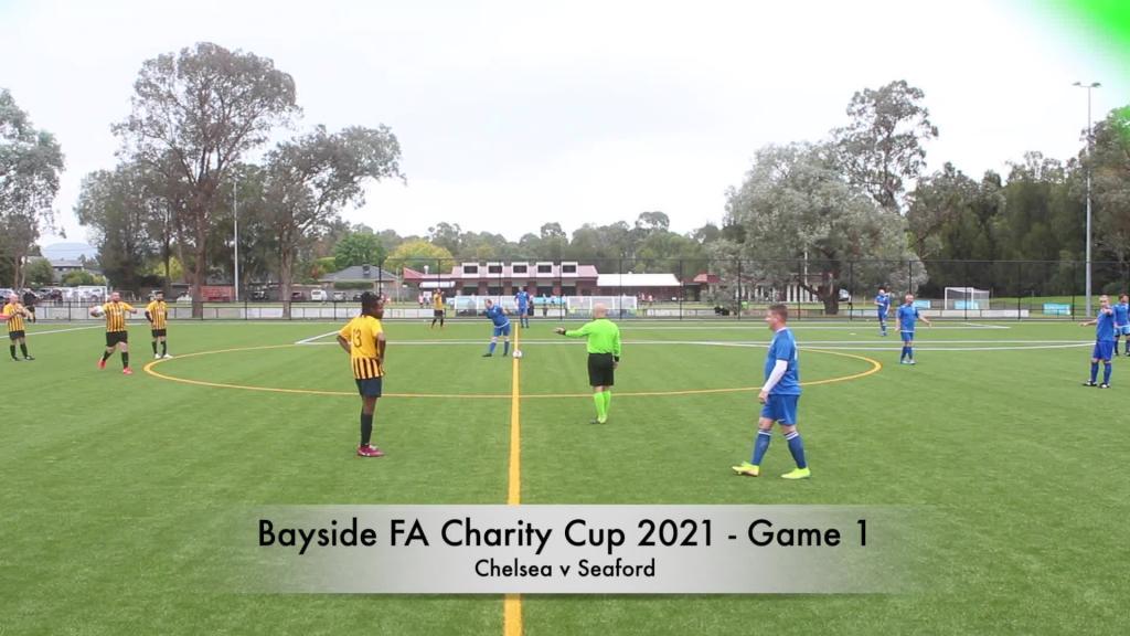 Bayside FA Charity Cup 2021 - Chelsea v Seaford