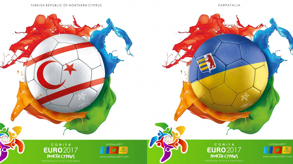 CONIFA Euro 2017: North Cyprus - Karpatalja