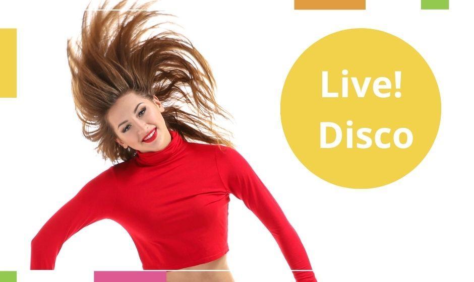 15/2 LIVE: Disco basic junior och ungdom