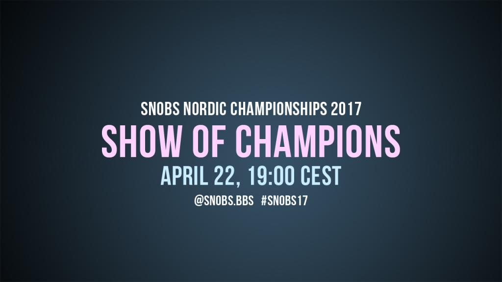 Show of Champions 2017