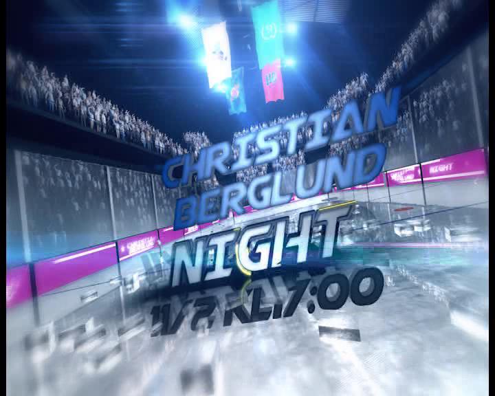 Christian Berglund night HC Flyers mot fagersta AIK