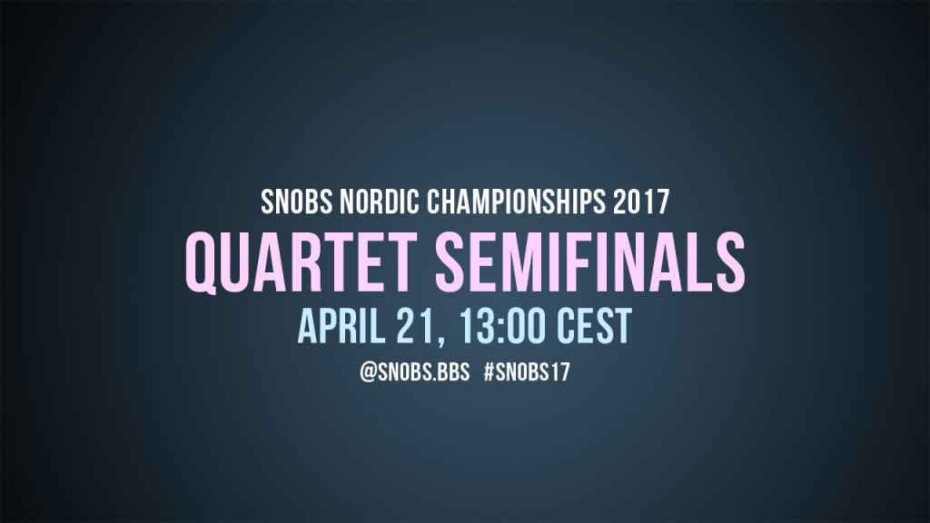 Quartet Semifinals 2017