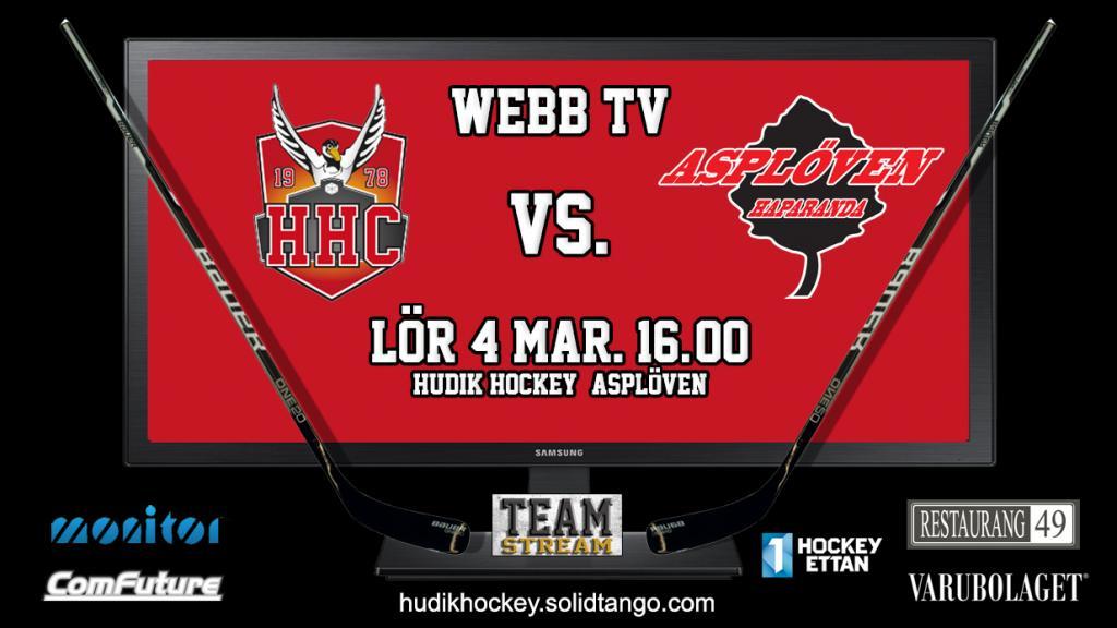 Hudik Hockey vs. Asplöven