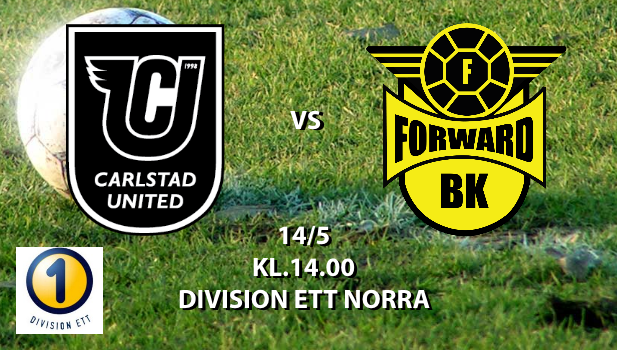 CARLSTAD UNITED BK - BK FORWARD 14 maj 14:00