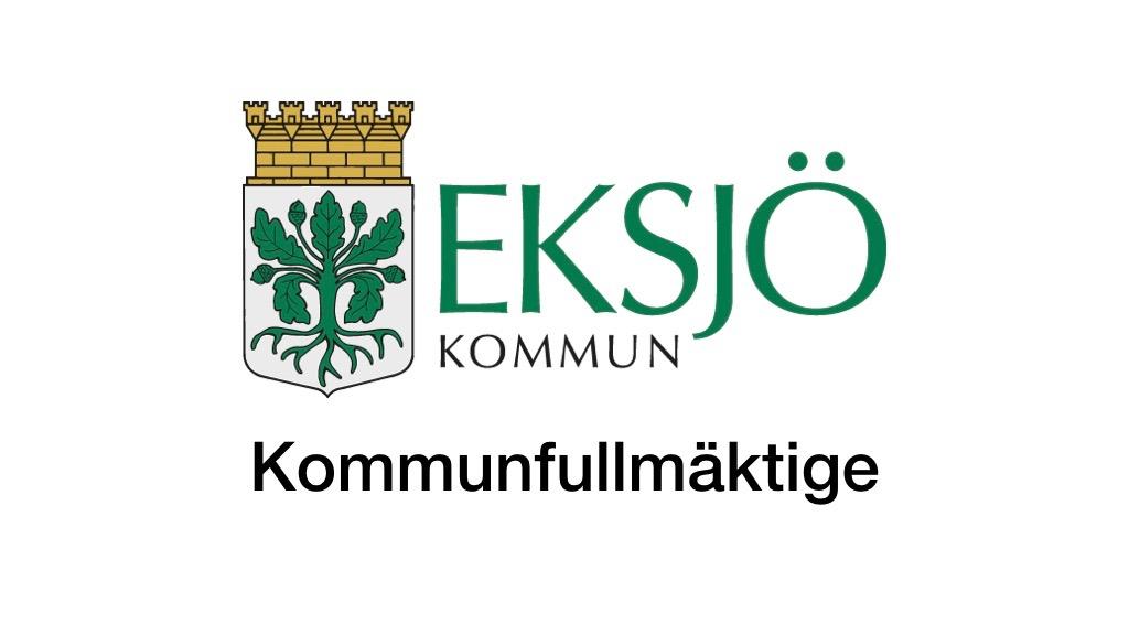 15 november Eksjö kommunfullmäktige