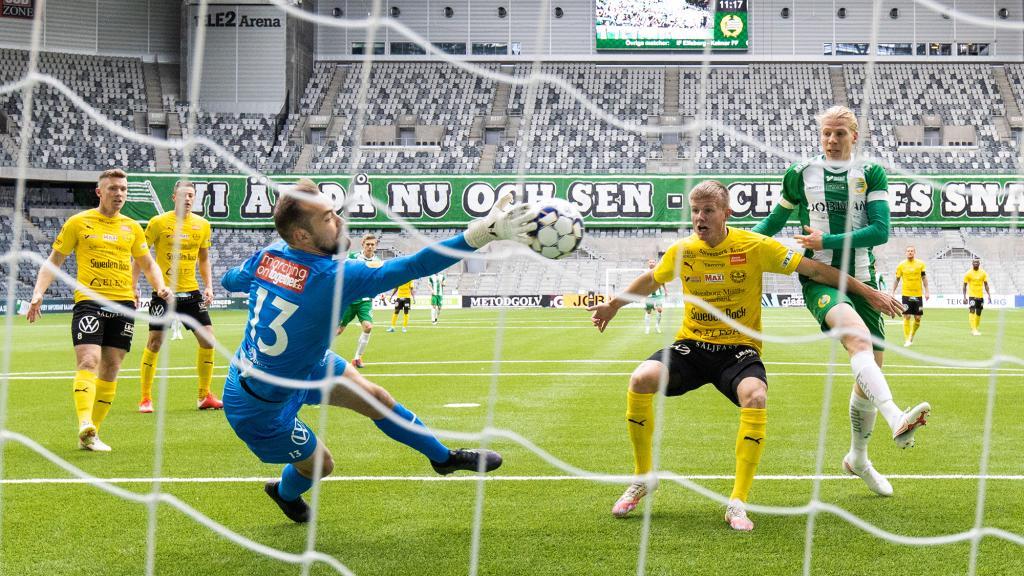 Höjdpunkter från Hammarbys seger över Mjällby