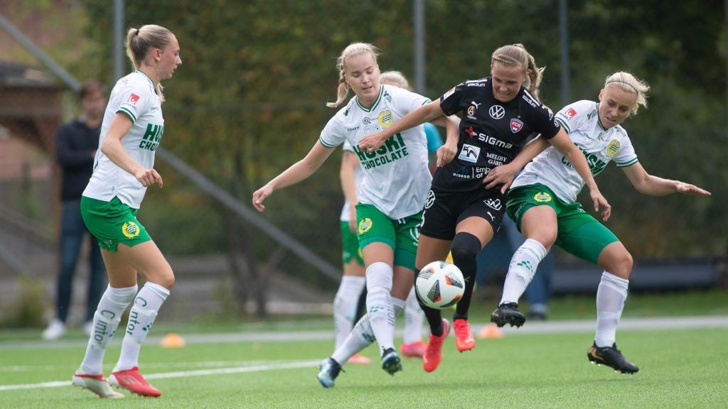 Sammandrag: Hammarby – Rosengård 1-2 (0-1)