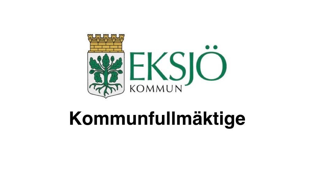 18 oktober Eksjö kommunfullmäktige