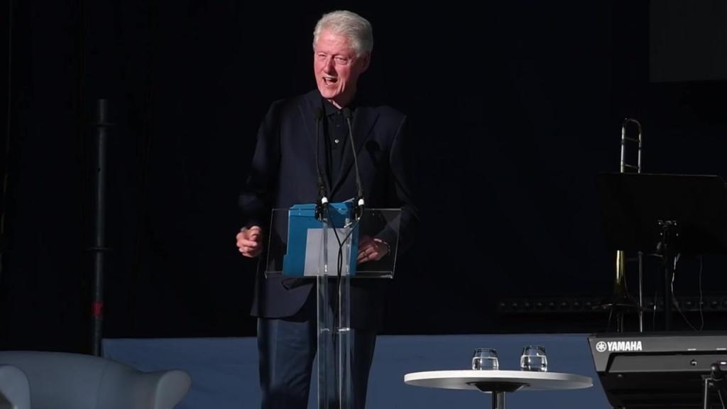 25072019 Bill Clintons tal på Anders Wiklöfs -25 juli konsert