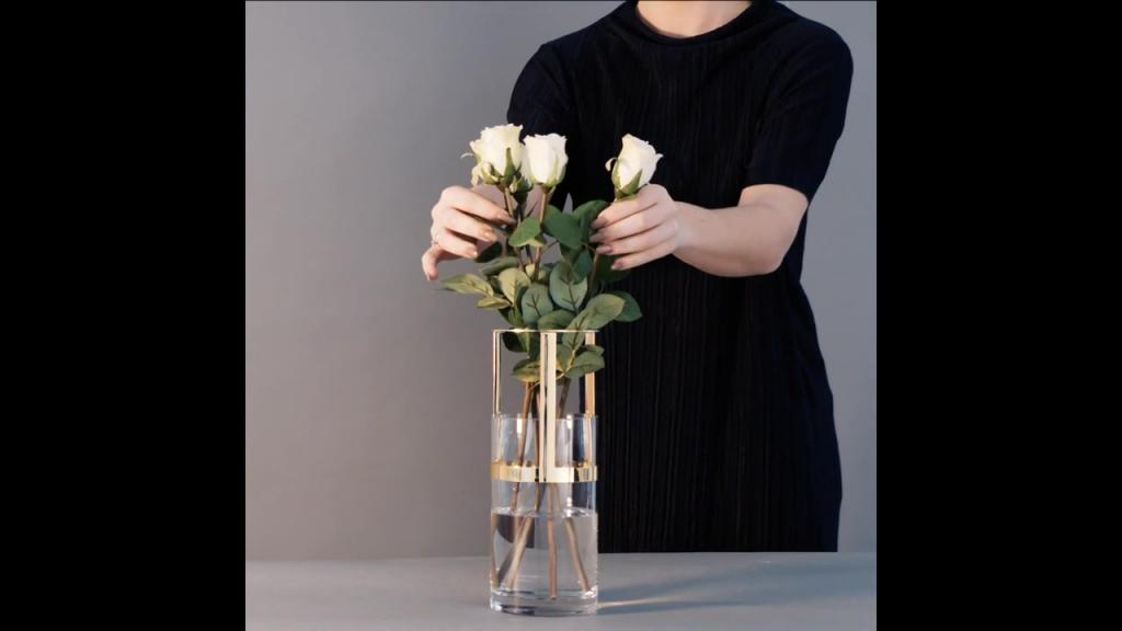 Winter - Hold vase