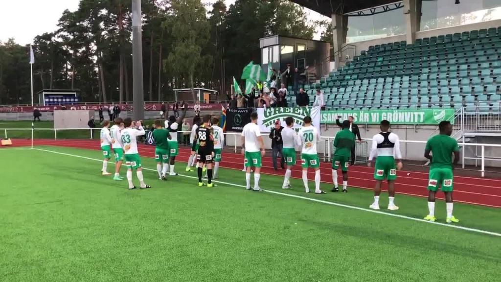 IFK tackar fansen
