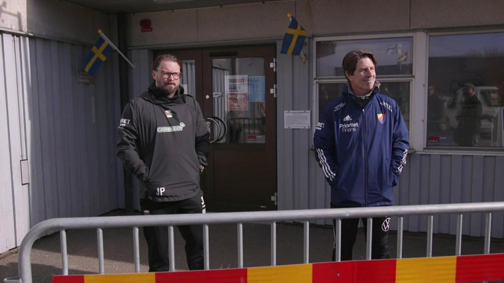 Presskonferensen efter Varberg Djurgården