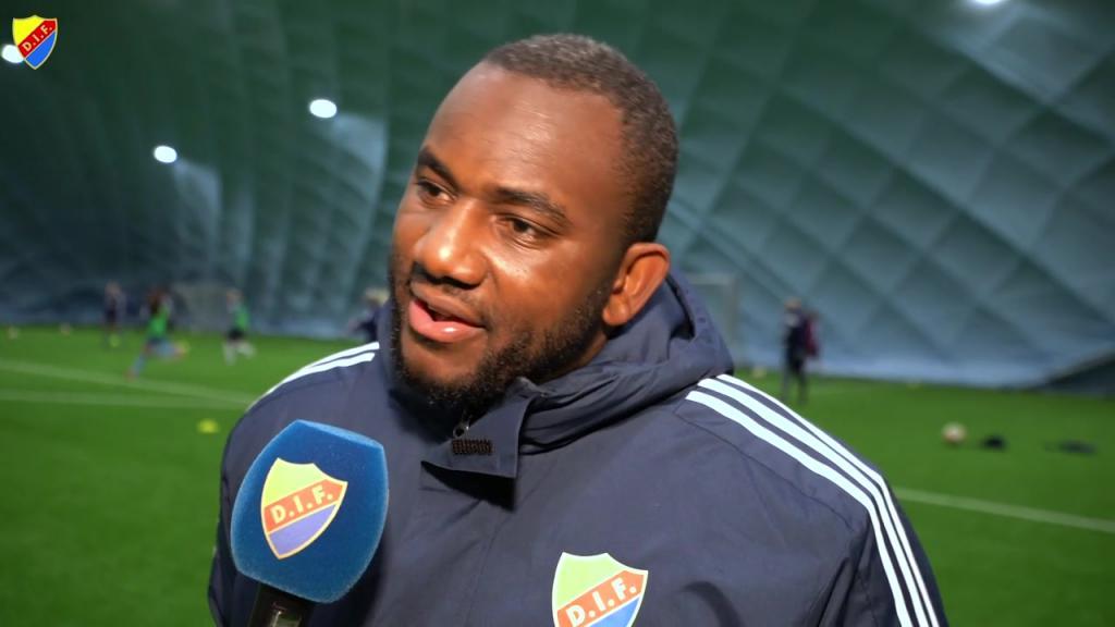 Jean Balawo - ny sportchef för DIF Dam och Flickakademin