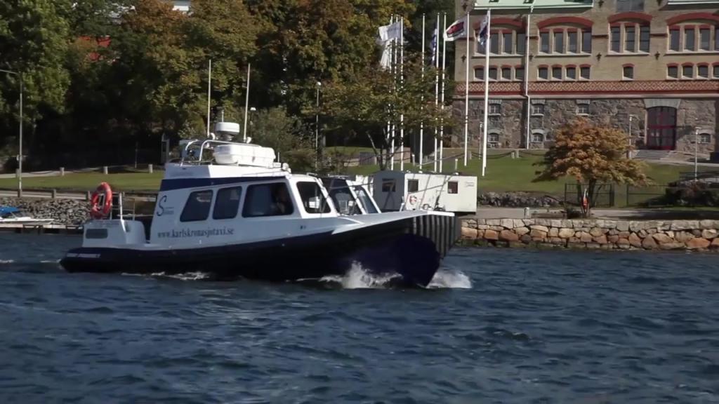Karlskrona sjötaxi