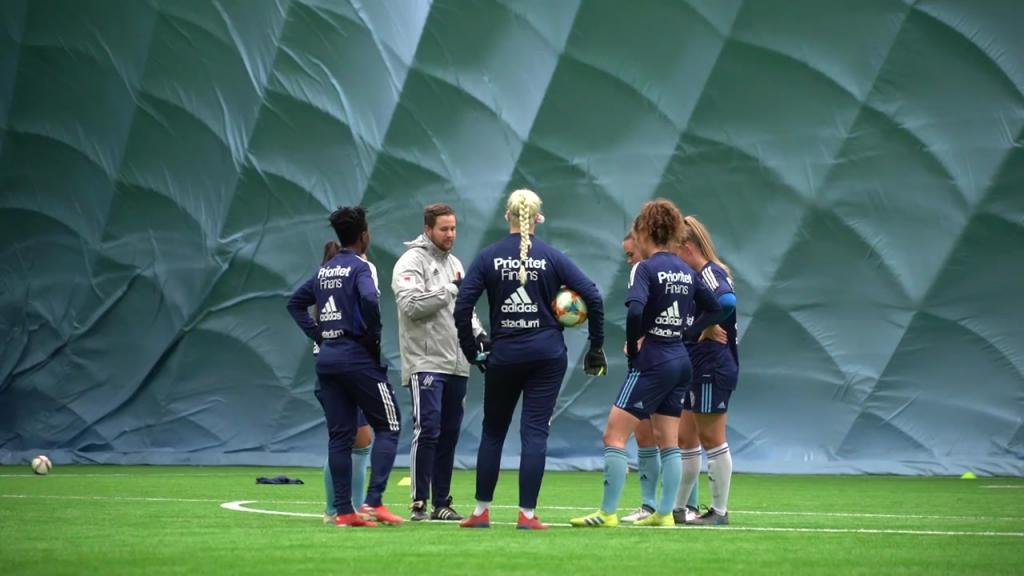 August Fors inför årets första träningsmatch