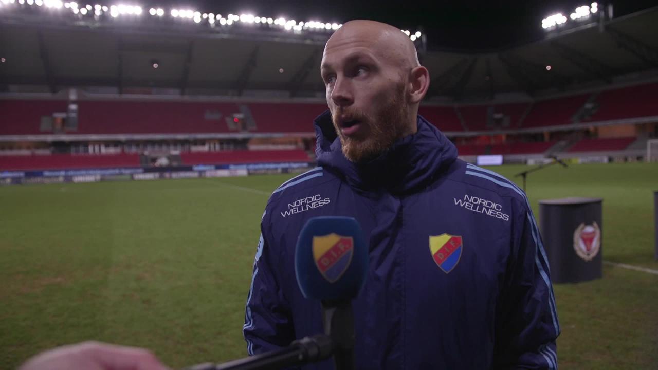 Intervjuer efter segern mot Kalmar