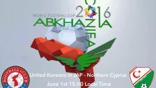 United Koreans in Japan - Northern Cyprus - 1 June 12:00 GMT