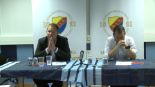 Presskonferensen efter DIF - IFK Göteborg 2012
