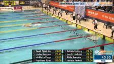 47 100m Frisim Damer A-Final SM/JSM 25m 2015