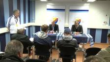 Frågestunden på presskonferensen efter DIF-ÅFF 2012