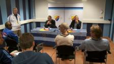 Presskonferensen DIF-IFK Norrköping 2012