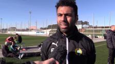 Imad - Skönt att spela match igen