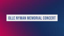 Olle Nyman Memorial Concert 2019