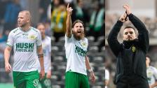 Darijan, Vladi och Bjørn inför AIK hemma