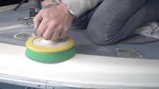 Polering – gammal gelcoat blir som ny