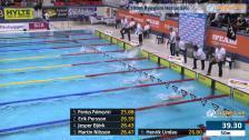 40 100m Ryggsim Herrar Heat 5 SM/JSM 25m 2015