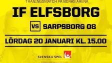 IF Elfsborg – Sarpsborg (träningsmatch)