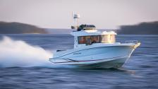 Beneteau Barracuda 9 – hyttracer med utombordare