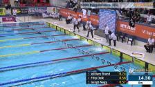 40 100m Ryggsim Herrar Heat 1 SM/JSM 25m 2015