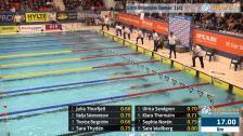 39 50m Bröstsim Damer B-Final SM/JSM 25m 2015