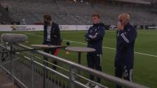 Presskonferens med Magnus Eriksson och Aslak Witry