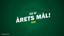 Här är Årets mål 2019 - dam!