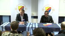 Presskonferensen från DIF-Örebro 2012