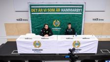 Presskonferens med Jeppe och Milos inför returen mot Basel
