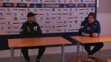 Presskonferensen efter Degerfors -Djurgården