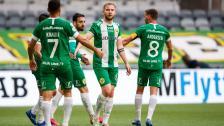Höjdpunkterna från Hammarbys seger i Europa League-kvalet
