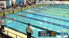 56 4X100m Medley Herrar Sr Heat 1 SM/JSM 25m 2015