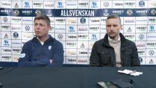 Presskonferens efter Örebro SK – MFF