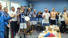 Segerglädje från Råsunda efter 3-1 mot Helsingborg