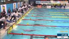47 100m Frisim Damer B-Final SM/JSM 25m 2015