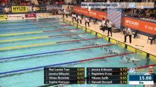 39 50m Bröstsim Damer A-Final SM/JSM 25m 2015