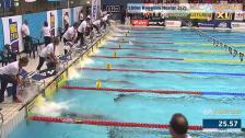 40 100m Ryggsim Herrar A-Final SM/JSM 25m 2015