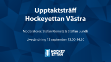 Upptaktsträff HockeyEttan Västra