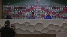 Presskonferens inför onsdagens champions league-kval